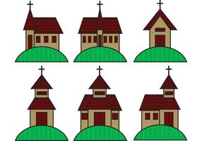 Country-church-vectors