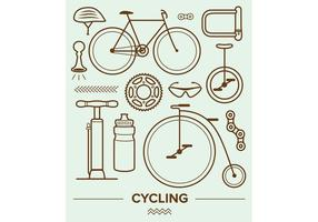Cykelvektorikoner