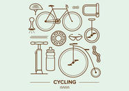 Cycling Vector Icons