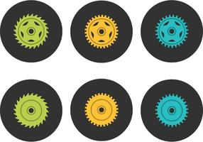Free Bike Sprocket Vector