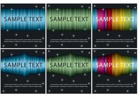 Northern Lights Vector Templates