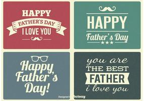 Vintage Father's Day Labels