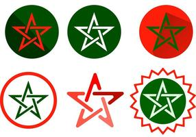 Morocco Star Vectors