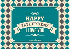 Father's Day Background Illustration vector