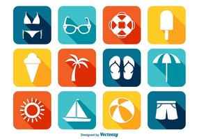 Helles Sommer Icon Set