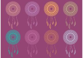 Boho Dreamcatcher Vectores