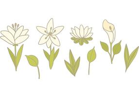 Vecteurs gratuits de Fleur de lis