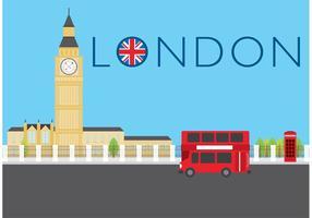 Vector de la ciudad de Londres