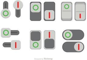 Activar desactivar los vectores de botones