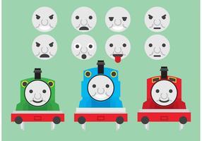 Thomas Los vectores del tren