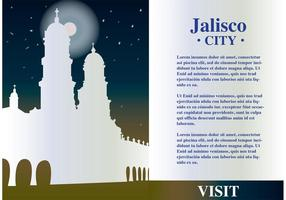 Jalisco México Background Vector