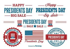 Presidents Day Sale Labels