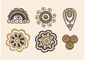Boho Art Vector Pictogrammen