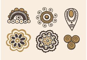 Boho Art Vector Icons