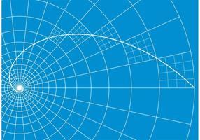 Golden Ratio Vector Background