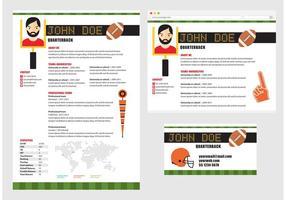Curriculum Vitae för fotbollsspelare
