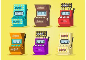 Slot Machine Vector Set