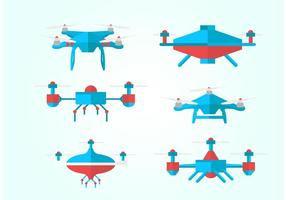 Pack vecteur drone