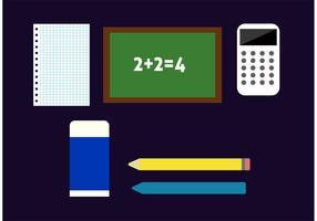 Vetores instrumentais de matemática