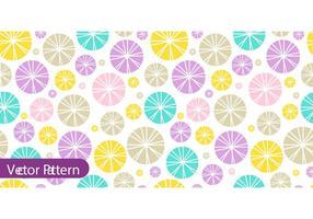 Kleurrijke Retro Patroon Vector
