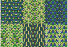 Peacock Pattern Vector Pack