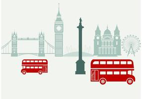 London City Scape Vector