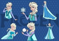 Elsa Frozen Vectors