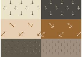 Free Vector Nautical Patterns
