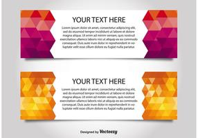 Modern Style Web Banner Templates