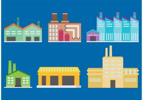Factory Building Vectors