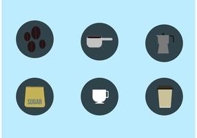 Kaffeepause Vektoren