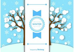 Winter Label Template