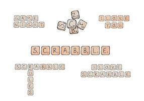 Gratis Scrabble Vector Series