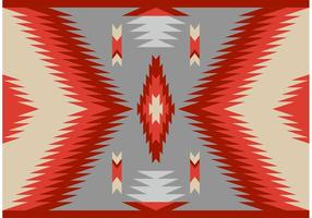 Antigo estilo Navajo Carpet Vector Pattern