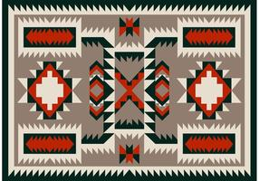 Navajo Pattern Carpet Vector Design