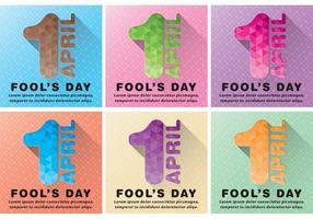 Fondos de Vector de Fools de Abril
