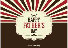 Father's Day Vector Illustration