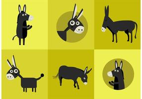 Donkey Vector Characters