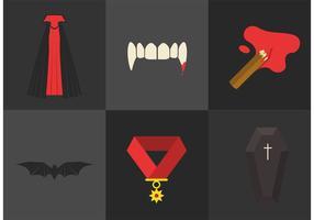 Elementos do vetor Dracula