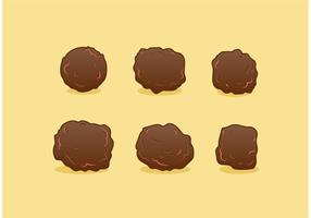 Gratis Meatball Vector Set
