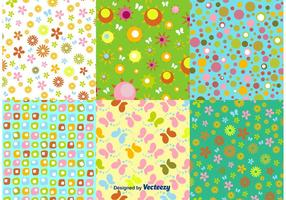 Vectores spring Pattern floral