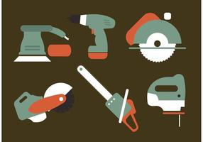 Vecteurs d'outils électriques