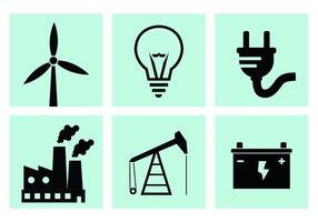 Vetores de produção de energia