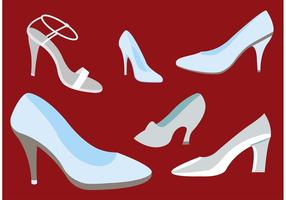 Glass Slipper Vectors