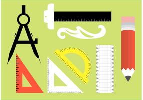 Architecture Tools Vectors