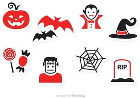 Halloween vector iconos