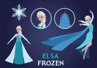 Elsa Frozen Vector Pack