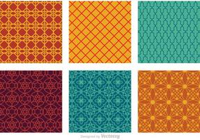 Marruecos Seamless Vector Patterns