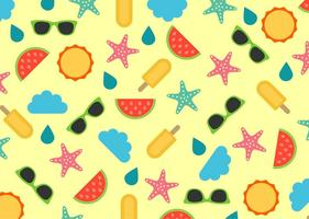 Beach Vector Patterns