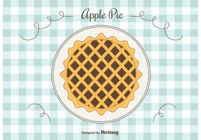 Fondo de vectores de Apple Pie